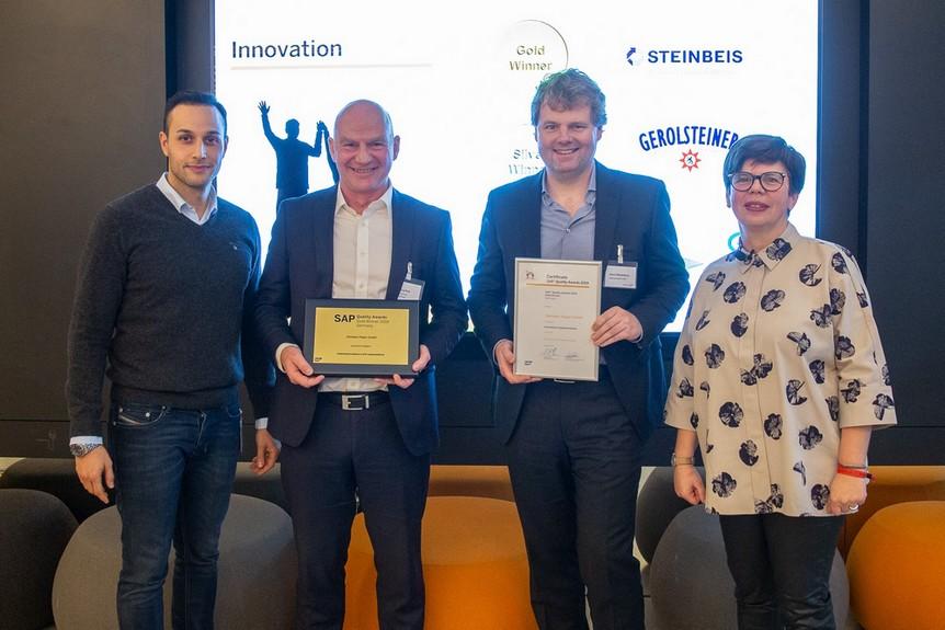 avato Kunde Steinbeis gewinnt SAP Quality Award